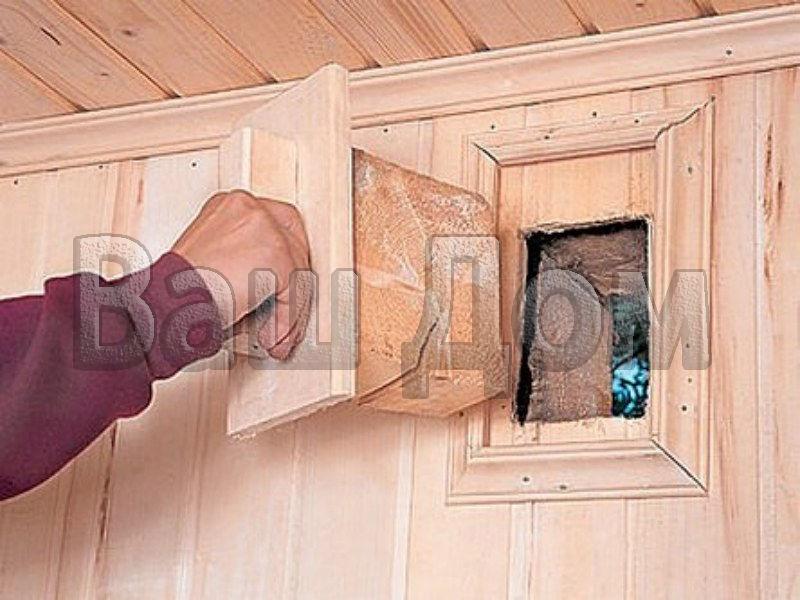 Дверь в предбаннике своими руками